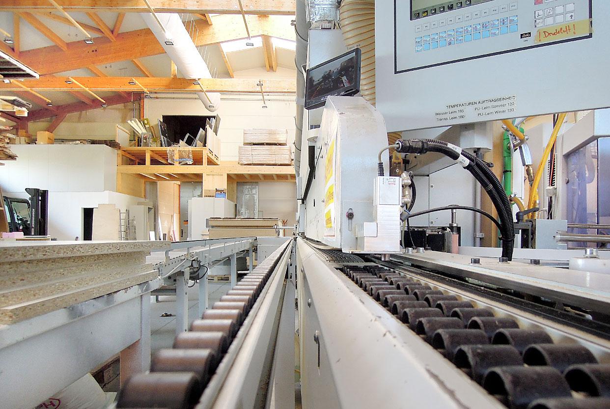 Platten-Schleifmaschine Schreinerei MERZ